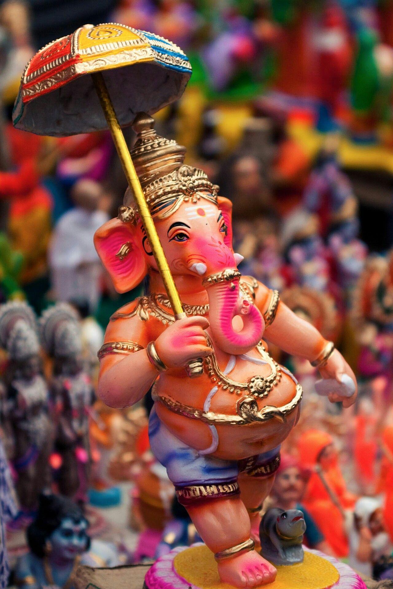 HD Wallpaper 😃   Ganesha, Indian festivals, Shree ganesh
