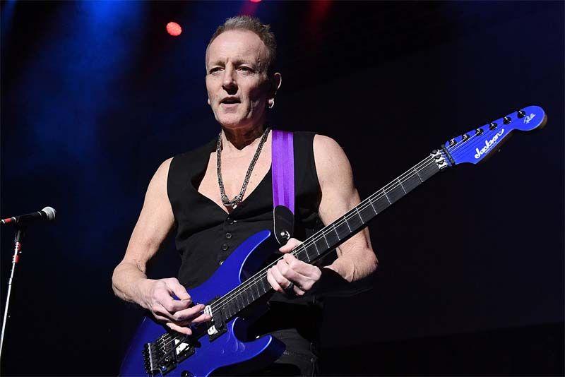 Def Leppard Guitarist Phil Collen Spoke In An Interview With Eddie