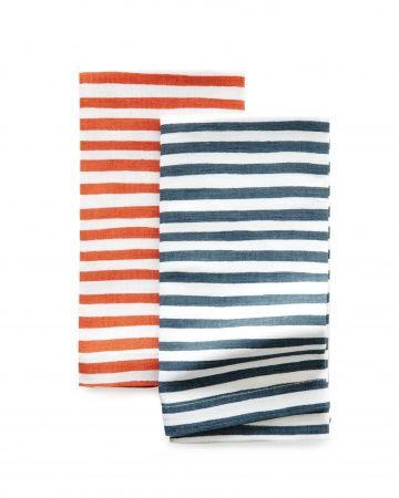 #BBQing essential -  Patriotic Striped napkins ($14 each)