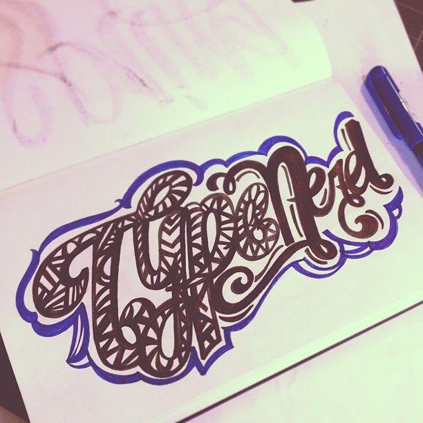 Typenerd! #lettering #letteringdaily