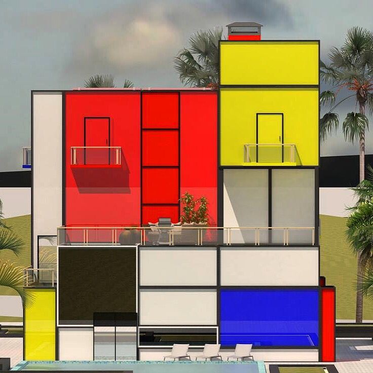 Mondrian Design Movement Mondrian House © Vasily