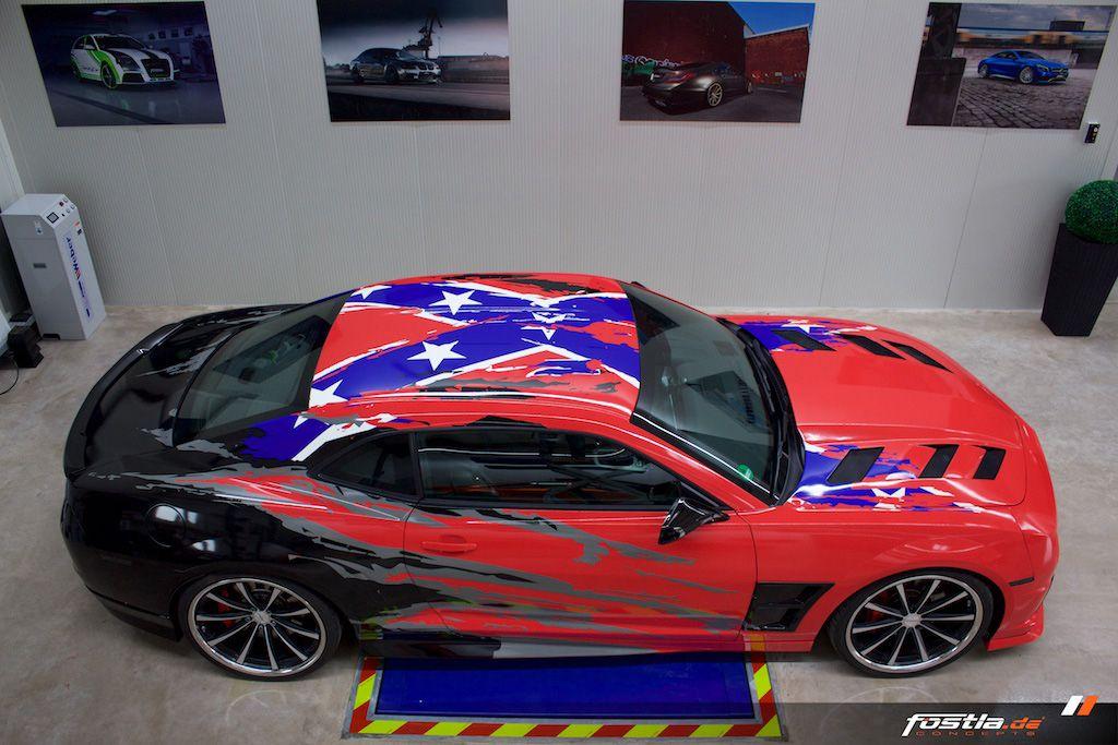 redblack Camaro DESIGN ATELIER TTSTUDIO Black camaro