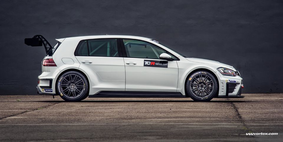 Initial Tests With The Volkswagen Golf Gti Tcr Prove Successful