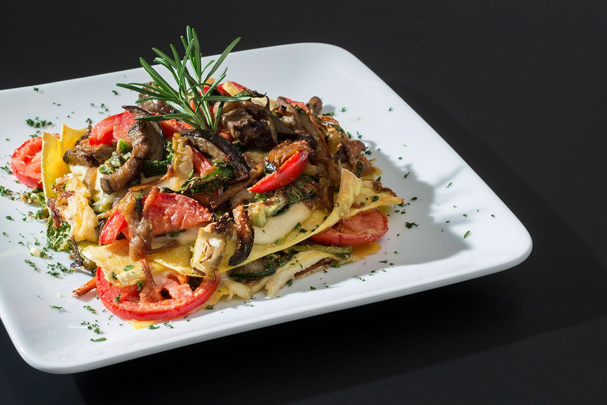 Lasagne Italian special food