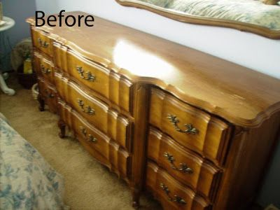 My Romantic Home Painting Furniture Step By Before After Shabby Chic And Paint