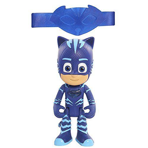 PJ Masks - Figura con luz Gatuno Figura con luz de Gatuno, el Héroe azul de los PJ Mask: Héroes en Pijama, de 7,5 centímetros de altura.
