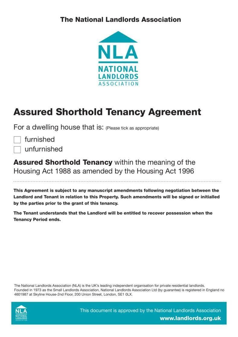 Tenancy Agreement Templates In Word Format Tenancy Agreement