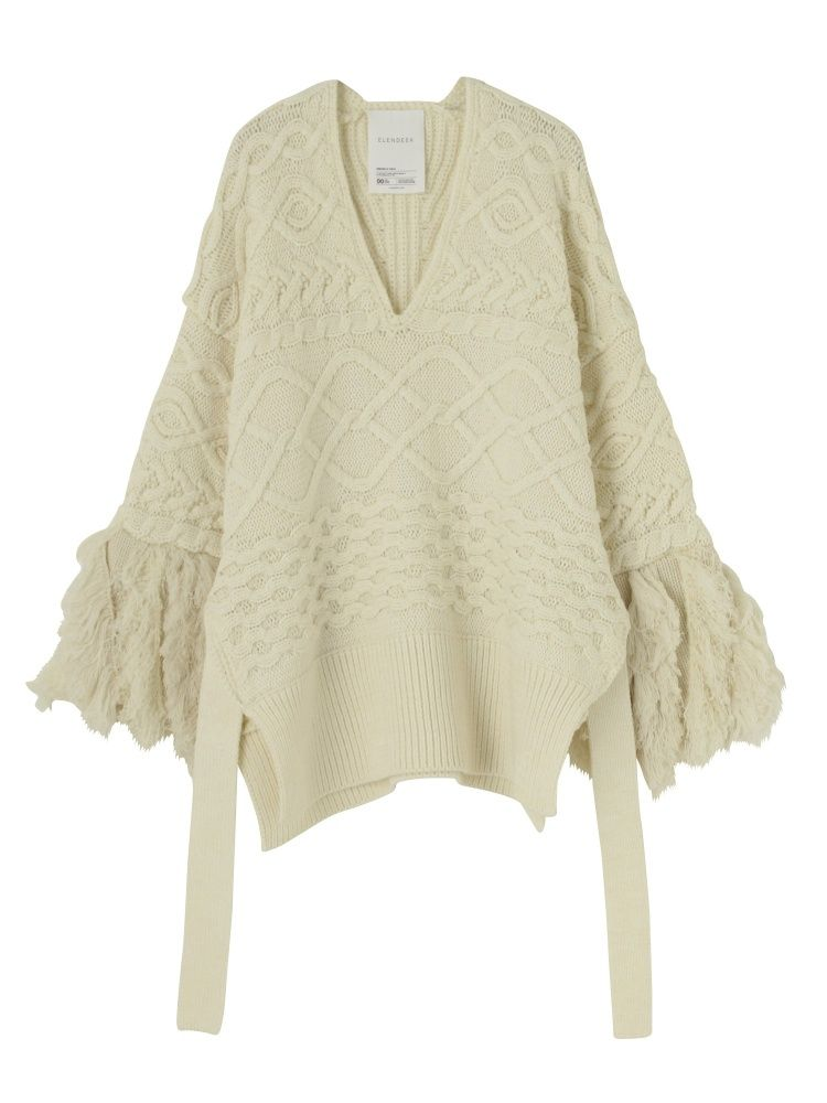 MIX FRINGE KNITPULLOVERの詳細ページ