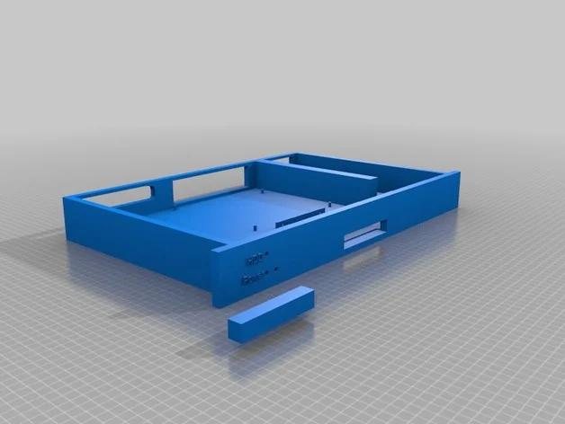 1u Rack Case Mini Itx 2 5 Ssd By Laptopdude90 Thingiverse Mini Itx Ssd Pci Card