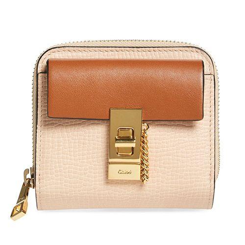c96f65e5f6 Chloe Drew Calfskin   Lambskin Square Wallet Saddle Handbags