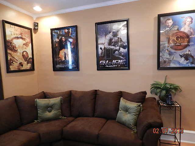 DIY Home theater media room