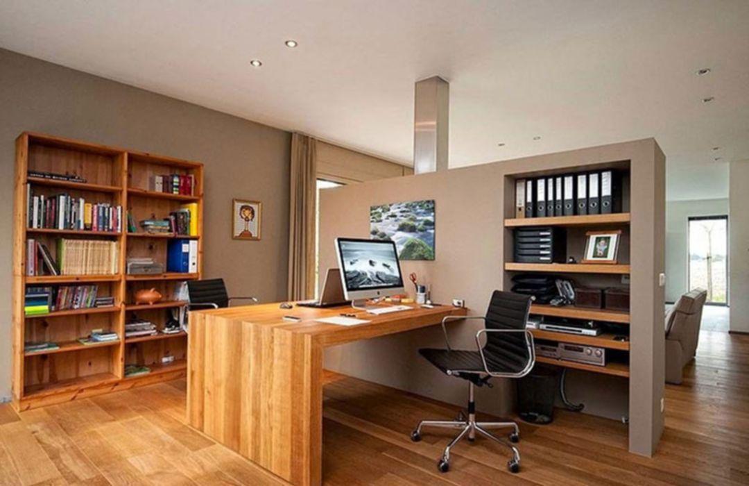 Impressive 30 Cozy Small Home Office Interior Design Ideas https ...