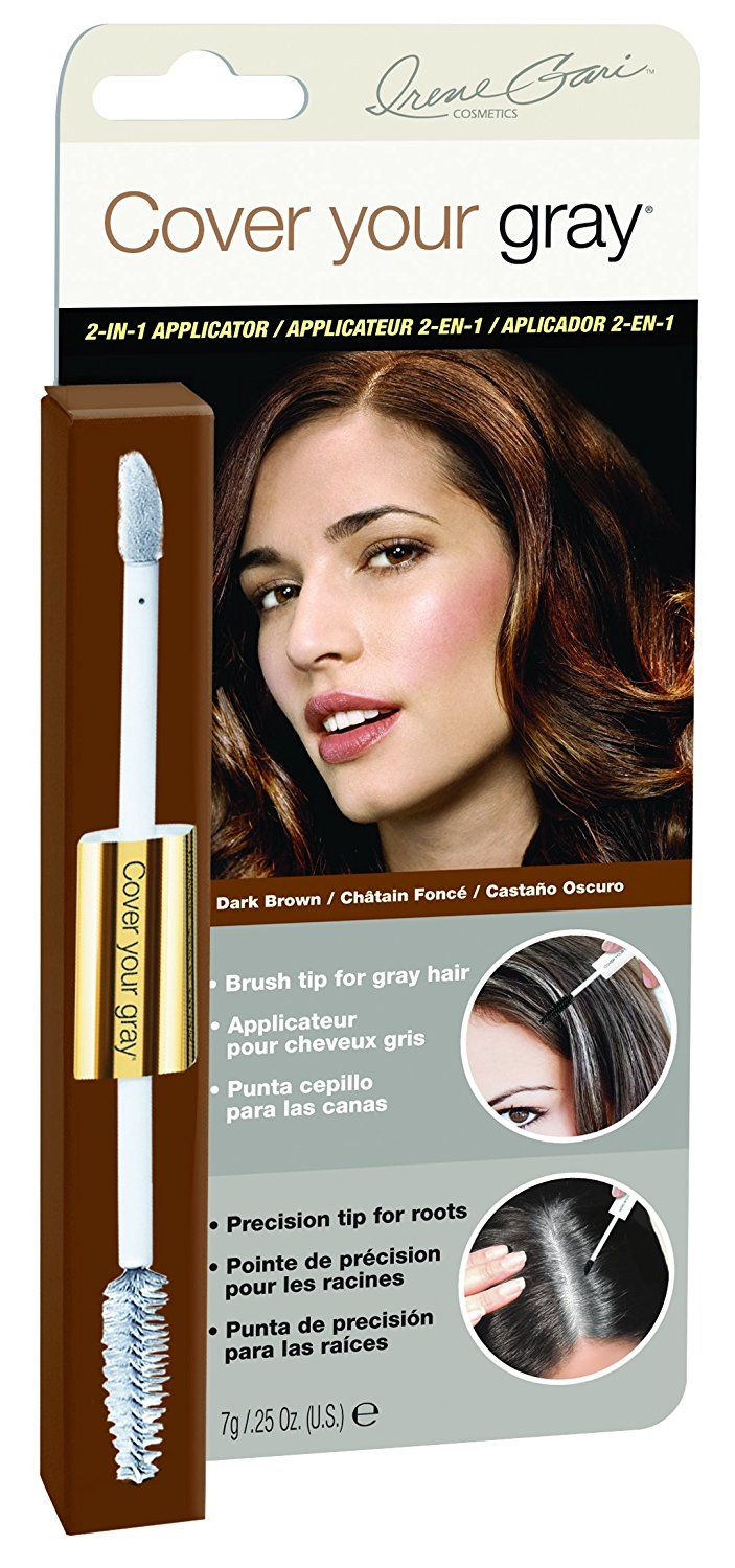 Irene Gari Cover Your Grey For Women 2 In 1 Hair Color Touch Up Wand
