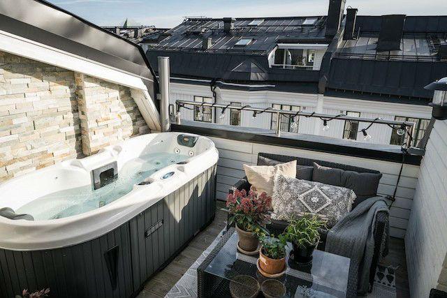 Se Puede Poner Un Jacuzzi En Una Terraza.Una Banera De Hidromasaje En El Balcon Copiarias La Idea