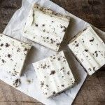 No Bake Cookies and Cream Cookie Dough Bars