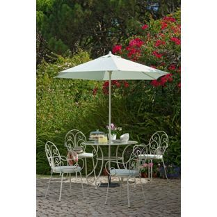 Heart Of House Jasmin 4 Seater Patio Furniture Set At Argos Co Uk Visit To Online For Garden Table And Chair Sets