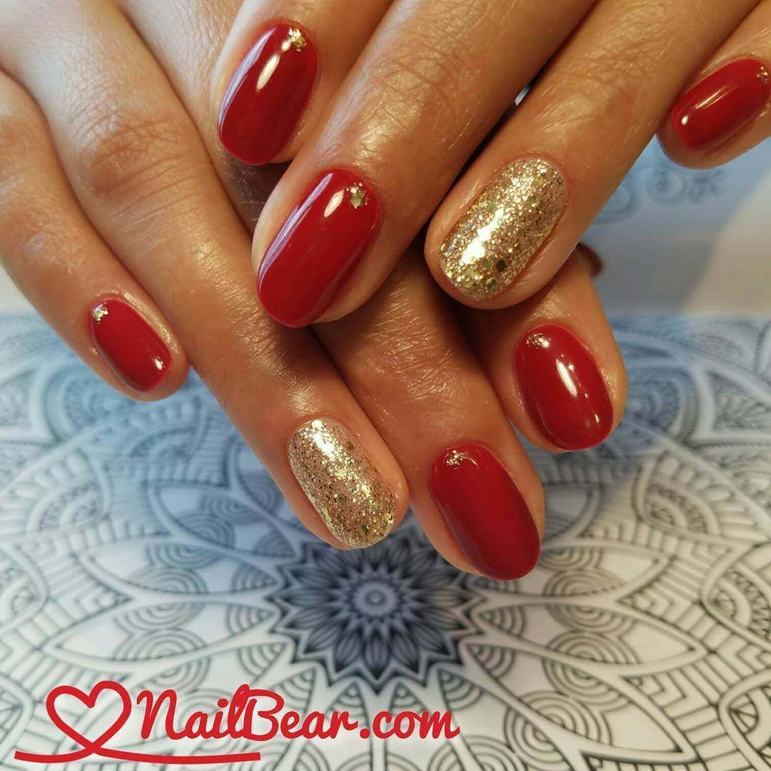 40 Uñas decoradas en color rojo   Decoración de Uñas - Manicura y Nail Art