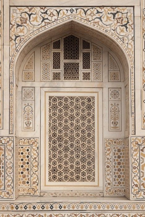 Mughal tomb (I'timad-ud-Daulah) in Agra, India Wall Mural • Pixers® - We live to change