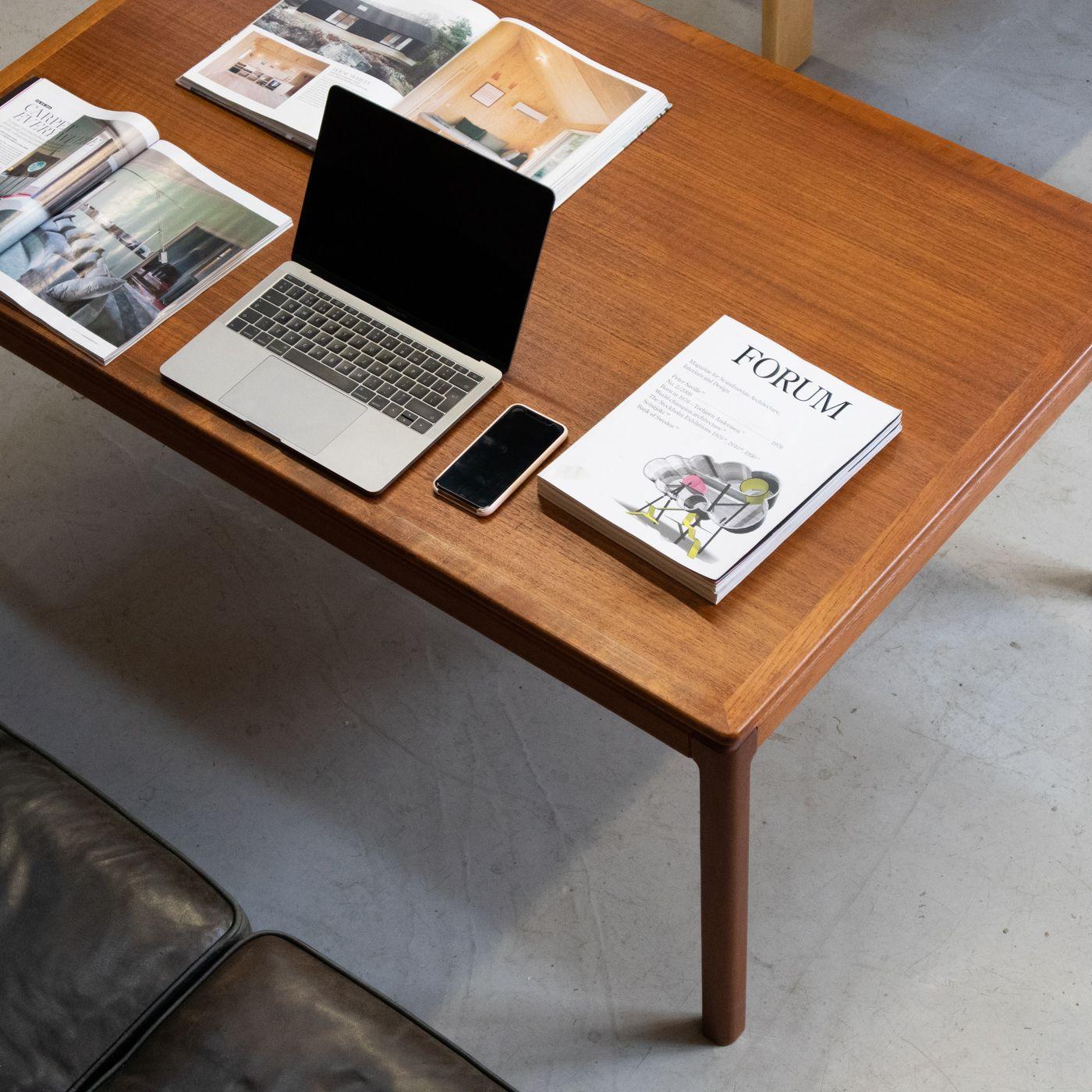 Folke Ohlsson Florida Sofa Table For Tingstroms Teak Mid Century Modern Coffee Table Scandinavian Coffee Table Scandinavian Furniture Design