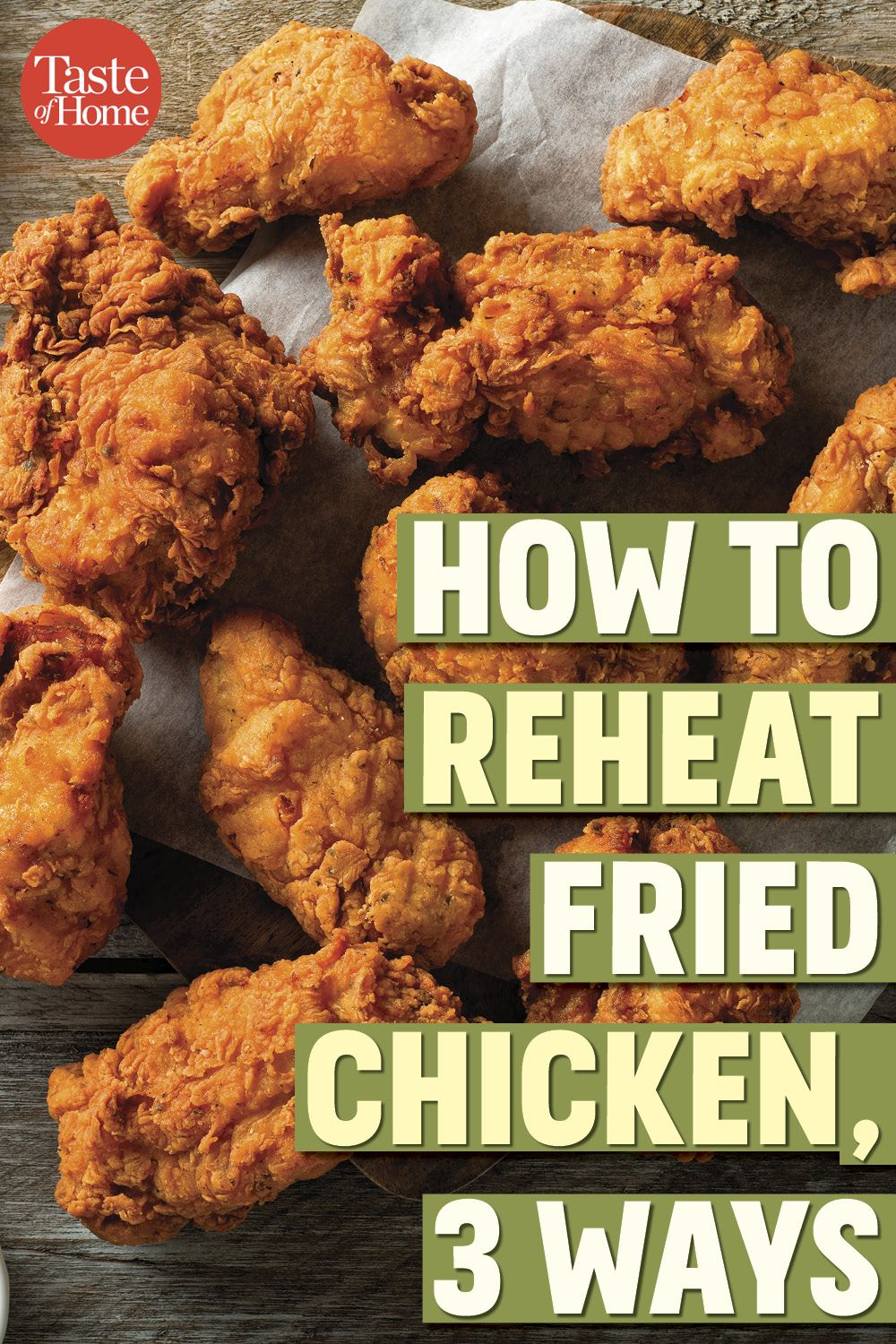 4 Foolproof Ways To Reheat Fried Chicken Reheat Fried Chicken Leftover Fried Chicken Recipes Stove Chicken Recipes