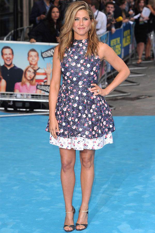 Jennifer Aniston Wears Something Other Than Black —