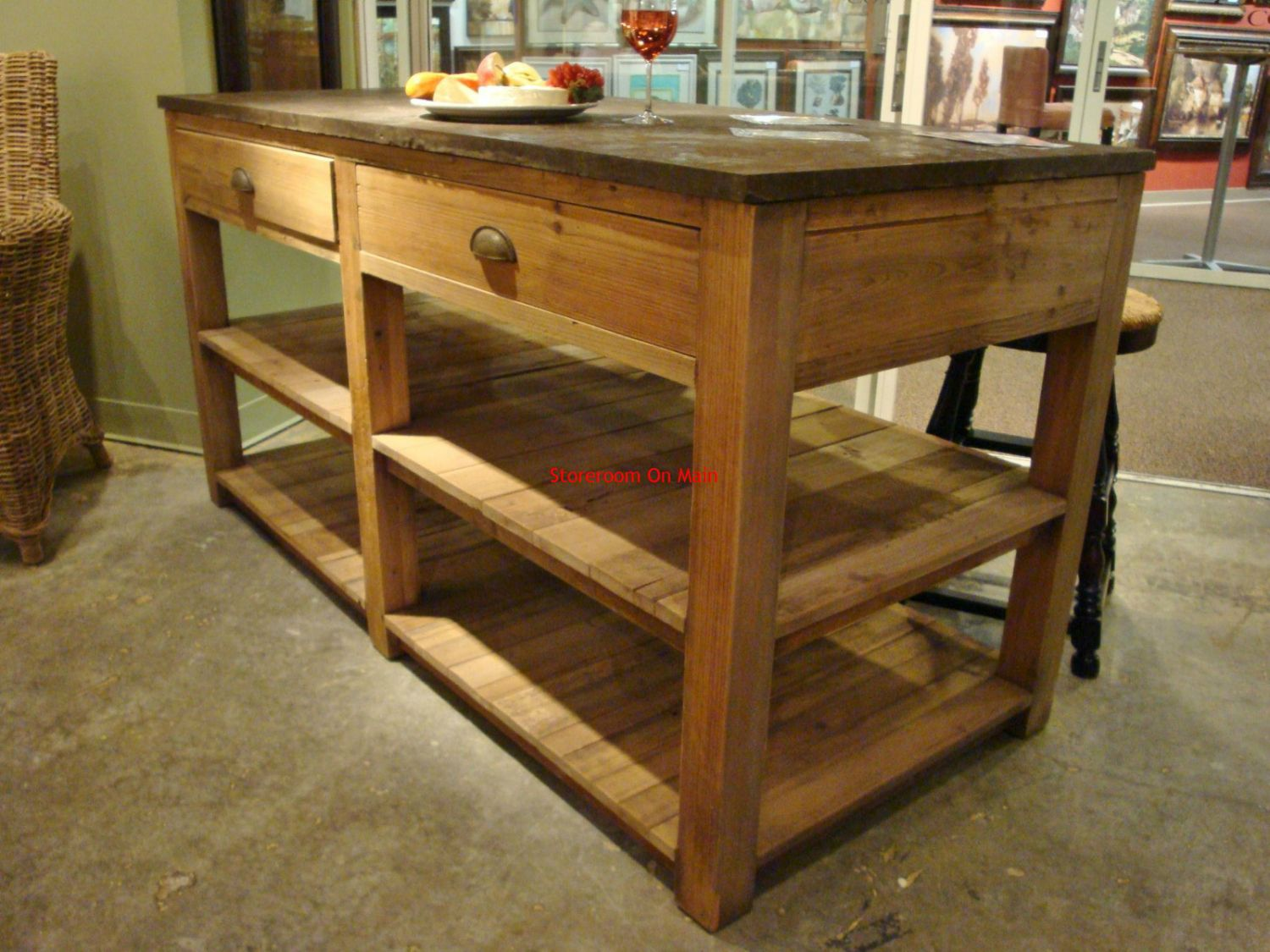 Pin By Annora On Home Interior Wood Kitchen Island
