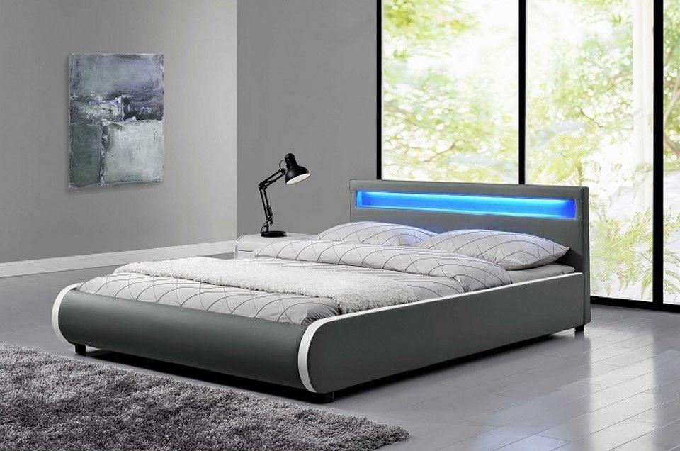 Dolce Agy Led Vilagitassal Hattamlajan Eco Bor Karpitozassal Konnyeden Megszepiti A Pihenessel Toltott Perceket Bedroom Bed Bed Furniture