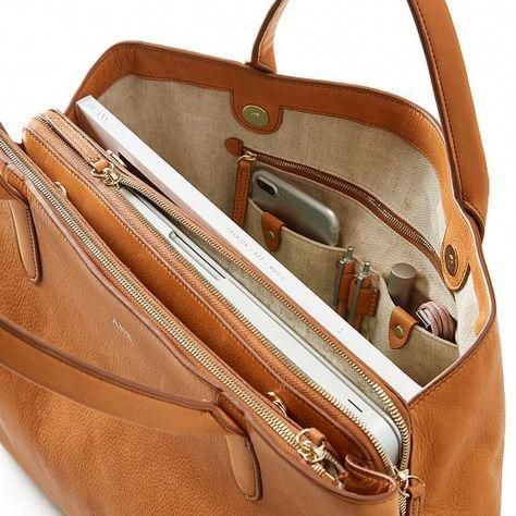 Caroline Leather Handbag | Everyday leather bag, Handbags ...
