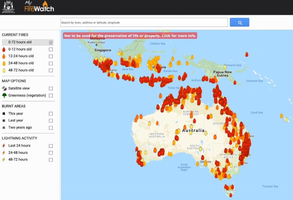 Épinglé par bibi sur Feux australiens en 2020 Australie