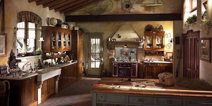 Come arredare una cucina rustica | Arredamenti nel 2019 ...