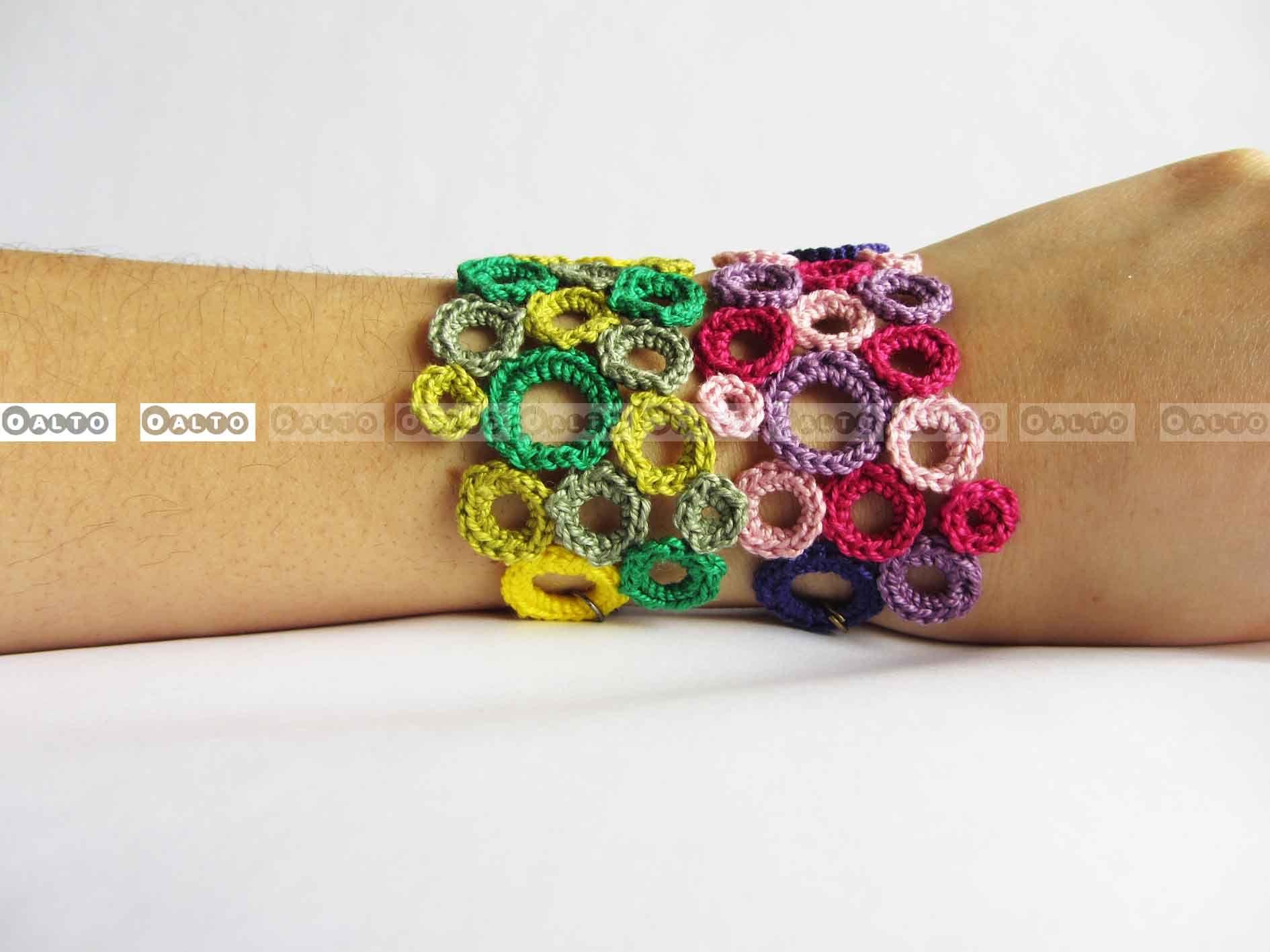 Crochet Pulsera