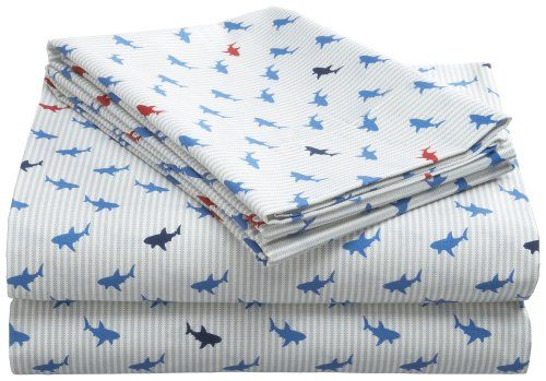More Detail >>> http://outlet9.com/product.php?asin=B0025VKC9Q Tommy Hilfiger Shark Attack Sheet Set>> Price: $40.00