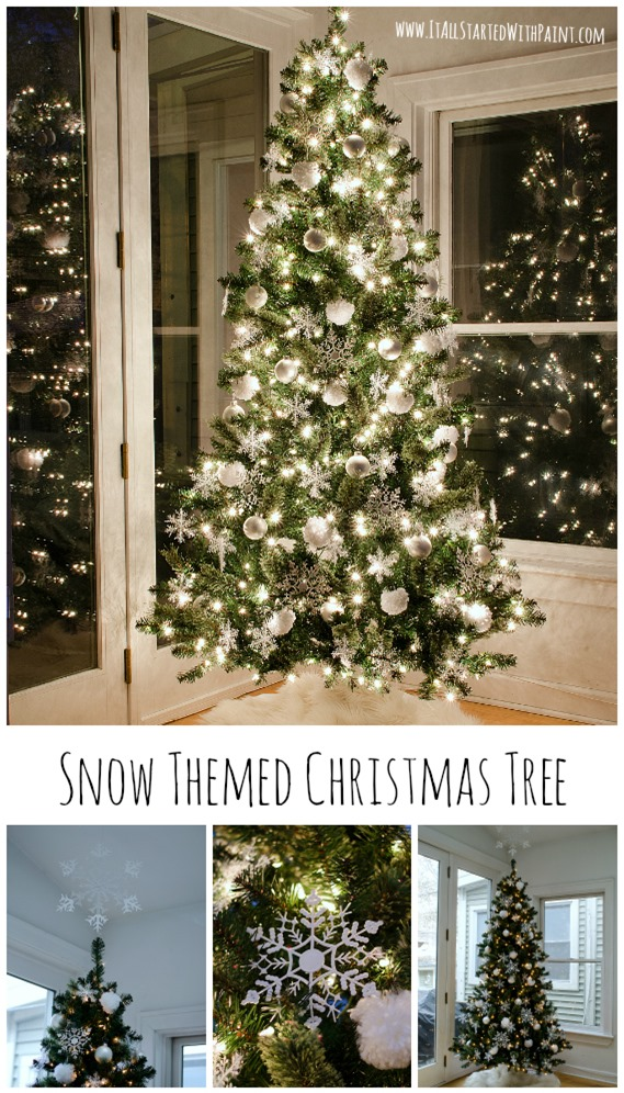 Snow Christmas Tree €� And 100 Gift Card Giveaway Ace Hardware