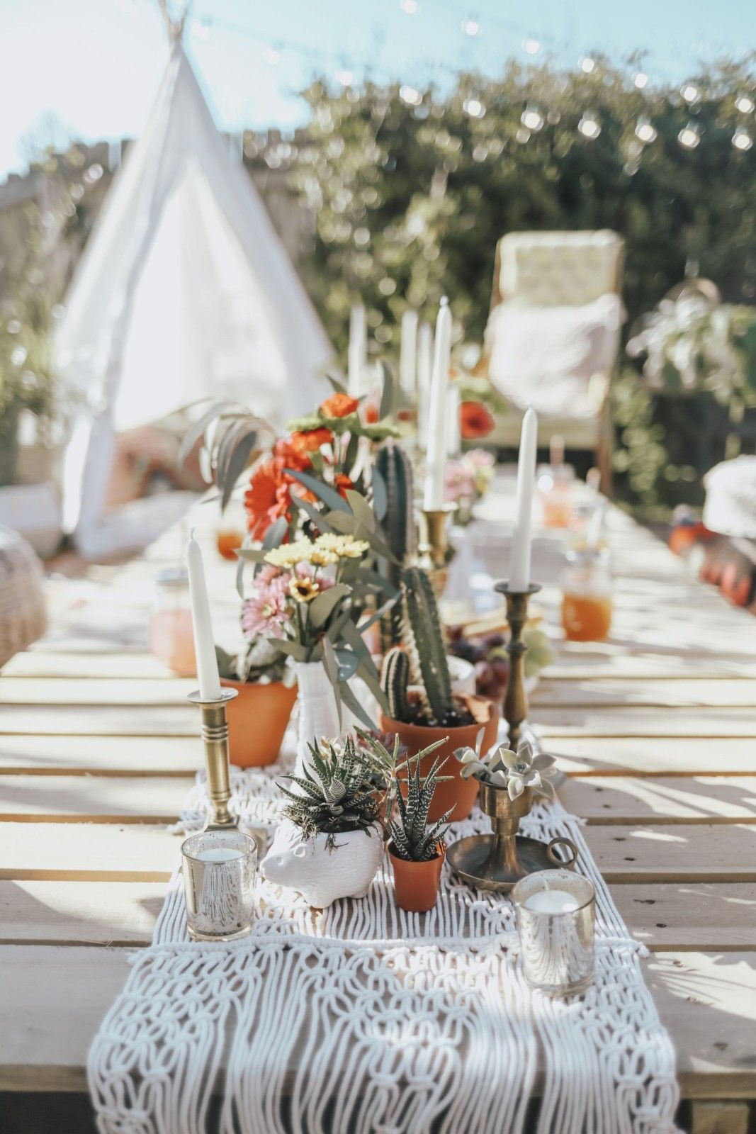 BACKYARD PARTY IDEAS ON A BUDGET in 2020 Boho themed