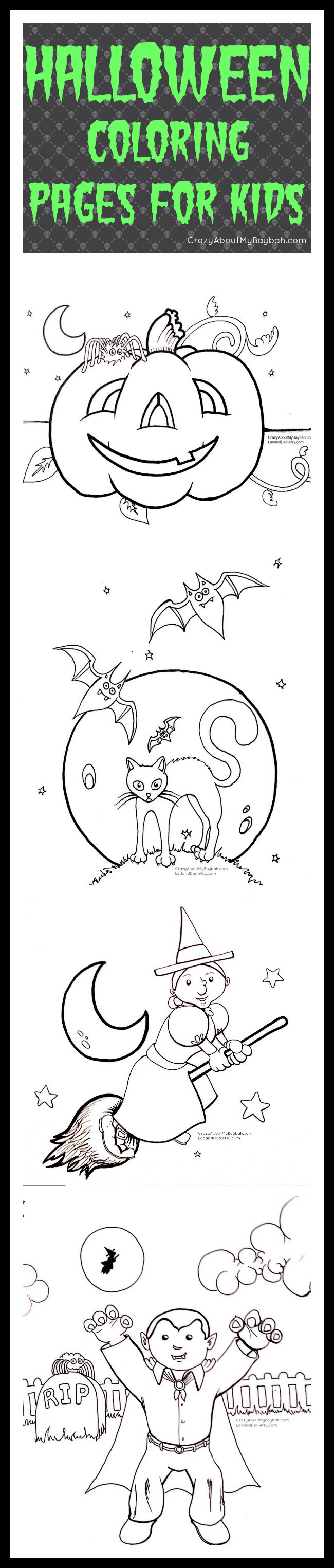 Free Printable Halloween Coloring Pages for Kids | Boys Halloween ...