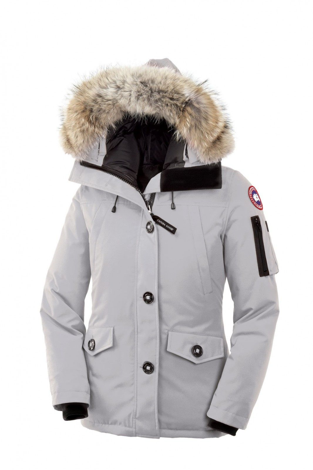 Canada Goose Montebello Parka Women Silverbirch  ThanksgivingDay  keepwarm b6803ee9f