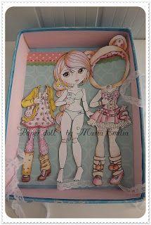 Maria Emilia, Desenhos e Bonecas: Fevereiro 2013