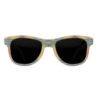 Fancy Yellow Blue Sunglasses #zazzle #fashion #accessories #sunglasses