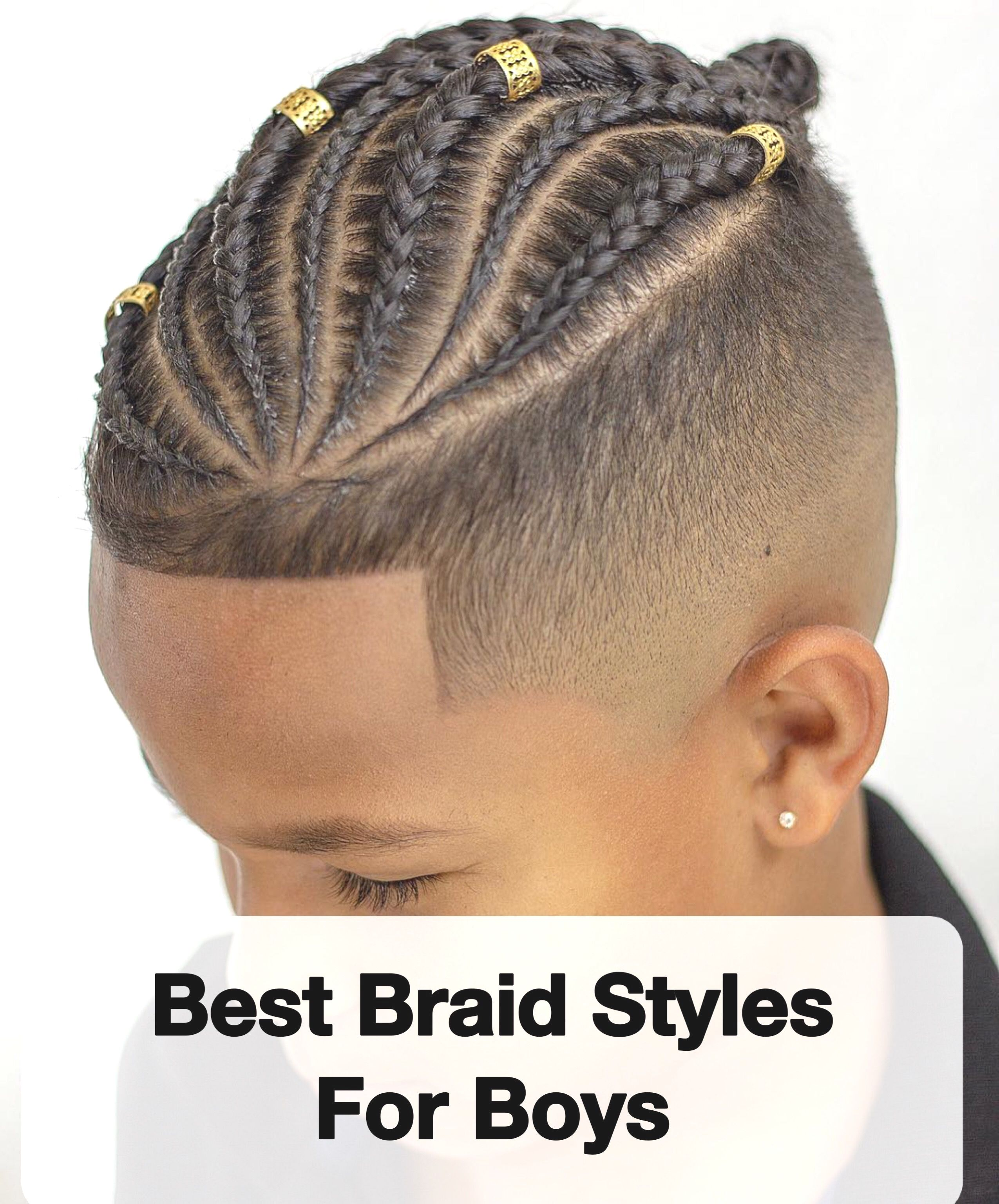 Cornrow Hairstyles For Boys Braided Hairstyles For Boys With
