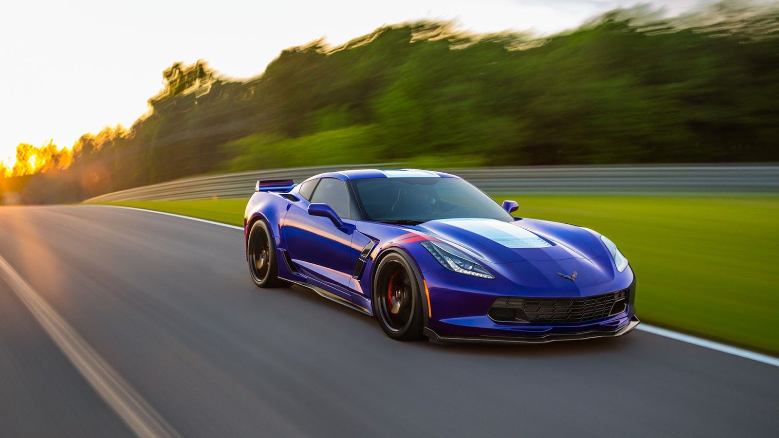 Chevrolet Corvette Grand Sport Rear Hd Wallpaper