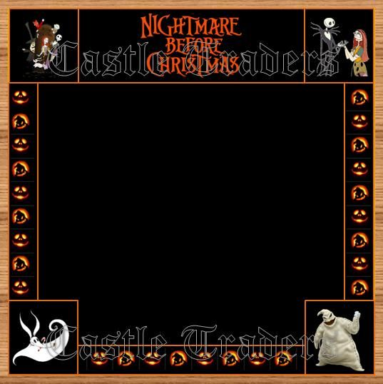 Nightmare before Christmas Border Board Disney Pin Display ...