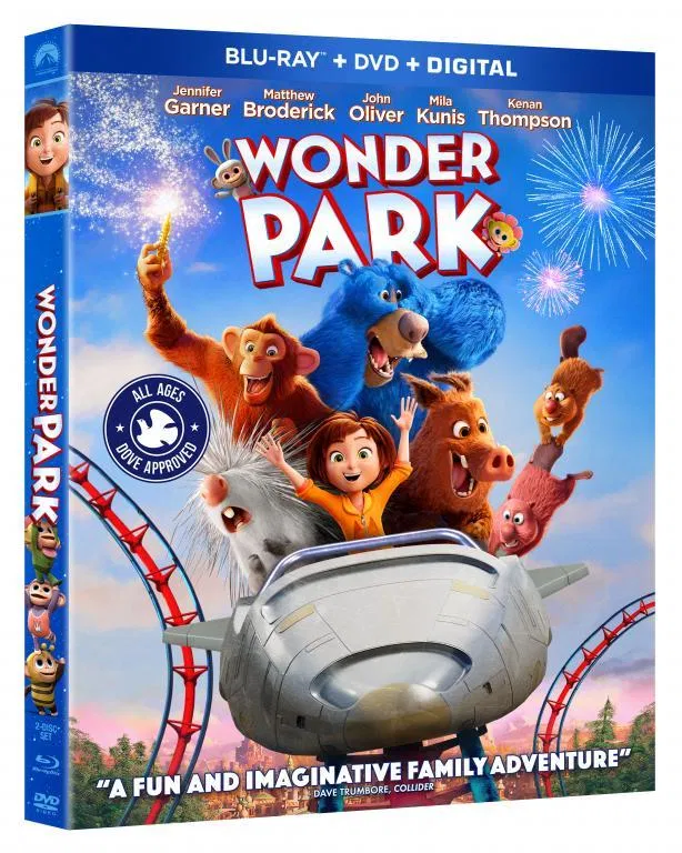 Free Printable Activities, Educator Guide and WonderPark Blu-Ray Combo Pack Giveaway!