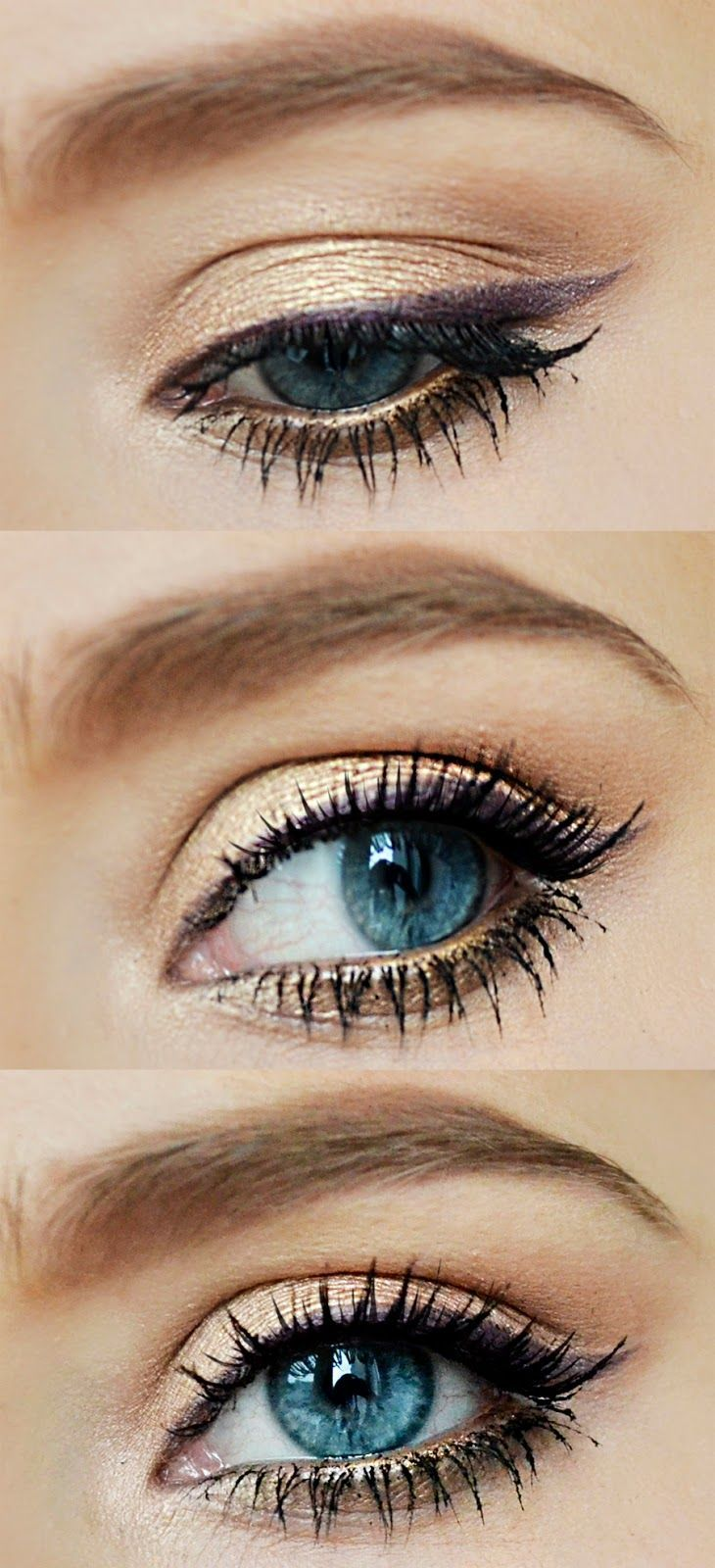 #simple #everyday #eyemakeup #blue #eyes (With images ...