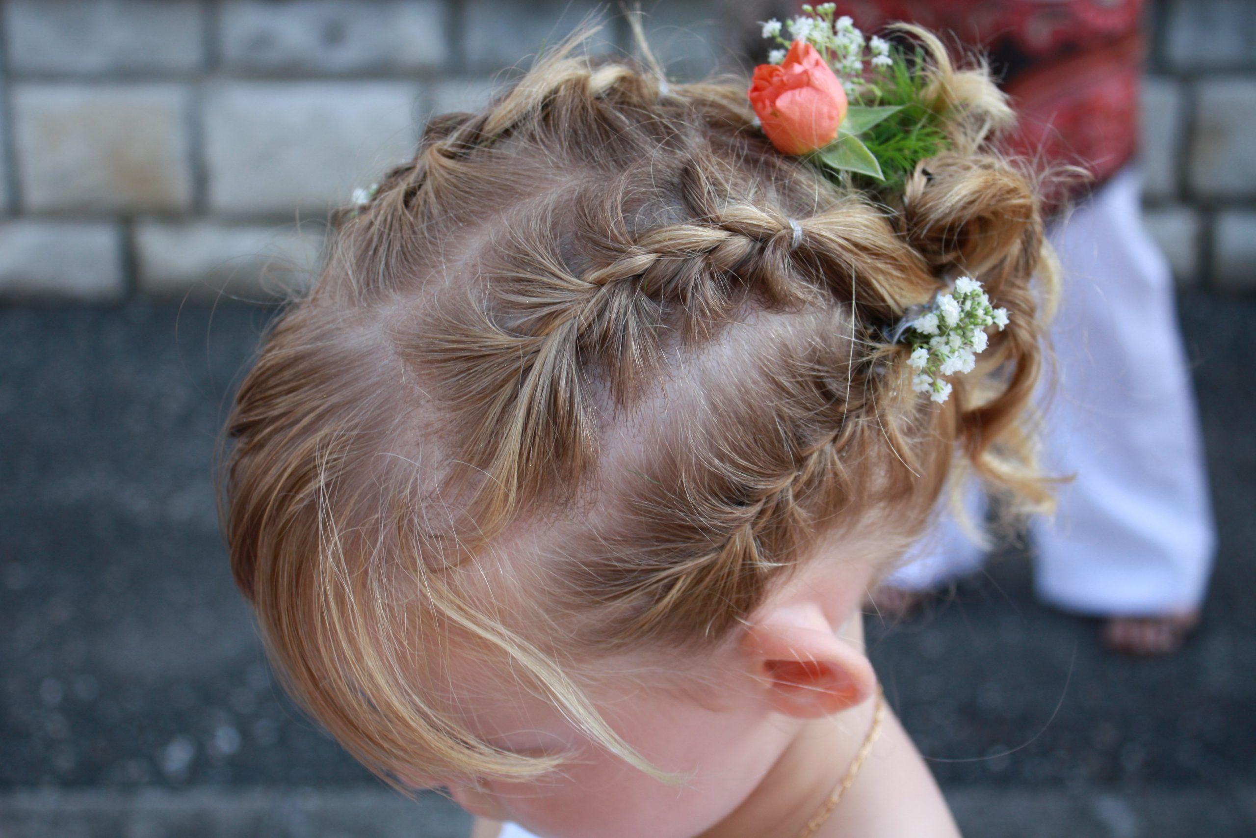 Inspiration Cheveux : chignon fille - #1899 | Inspiration ...
