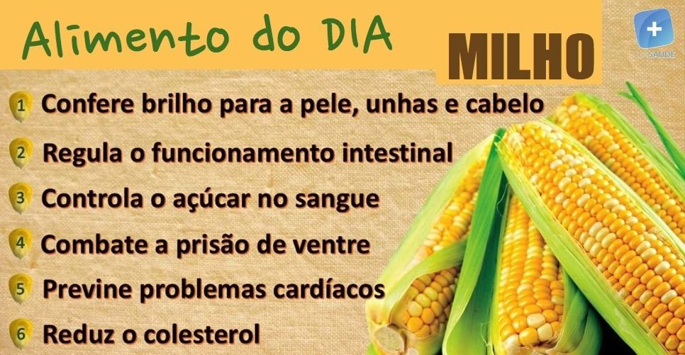 food items a benefa cios do milho