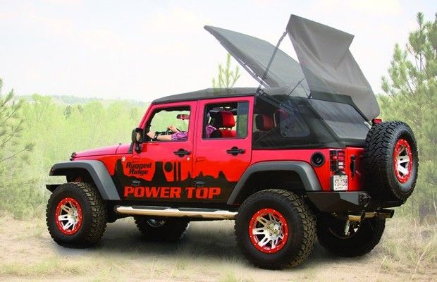 Finally A Fully Automatic Top For The Jeep Wrangler Jeep Wrangler Tops Jeep Wrangler Jk Jeep Tops