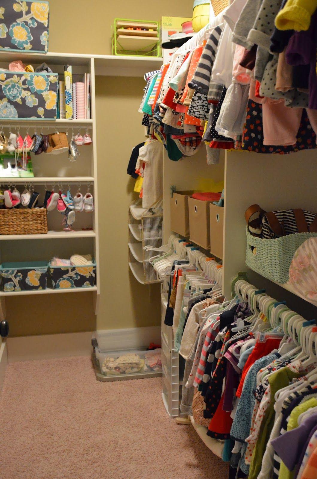 An Organized Baby Toddler Closet Baby Closet Organization