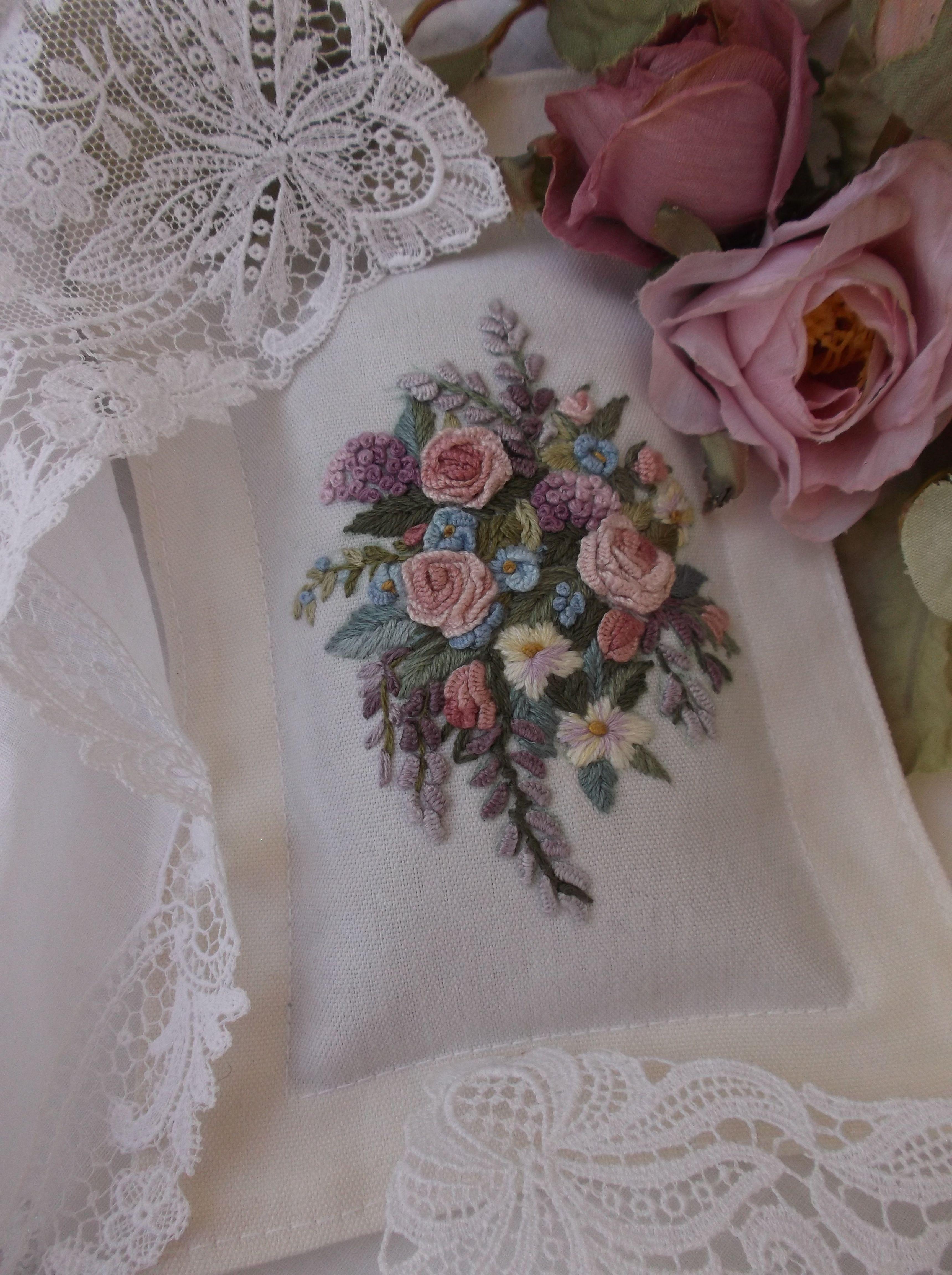 Sachet Made By Swetlana O My Handmade Embroidery Petit