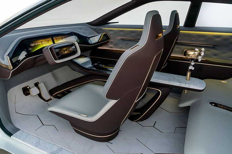 Infiniti Eyes The Future With Electric Concept Vehicle And New
