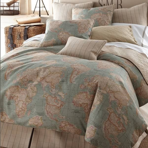 full size 10 Ways to Decorate with Maps
